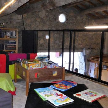 camping les catoyes avec bibliotheque
