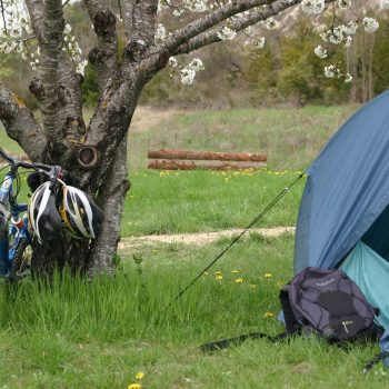 location emplacement tente camping sisteron